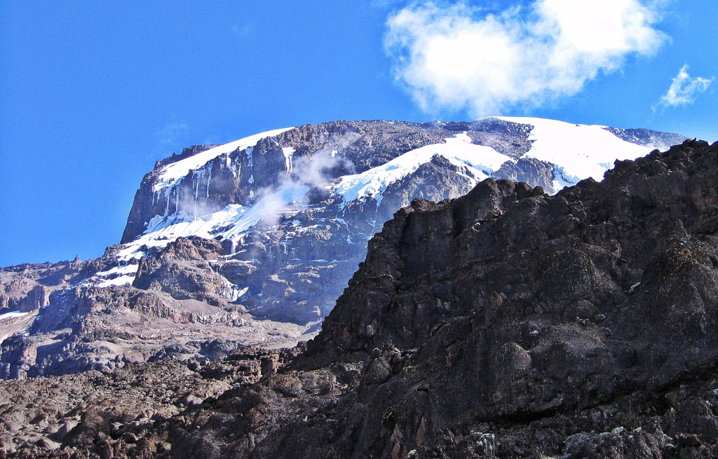 Kilimanjaro and Baranco Wall