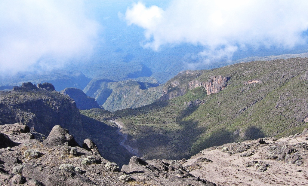 Above Baranco Wall, Mount Kilimanjaro