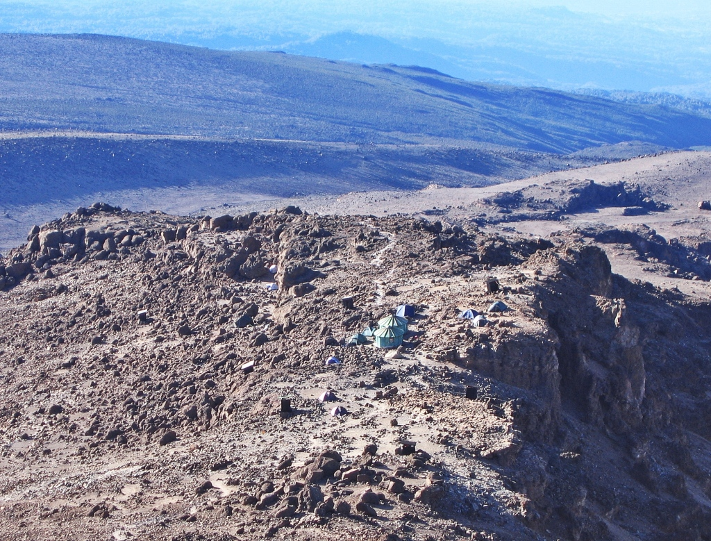 Above Barafu Camp, Mount Kilimanjaro
