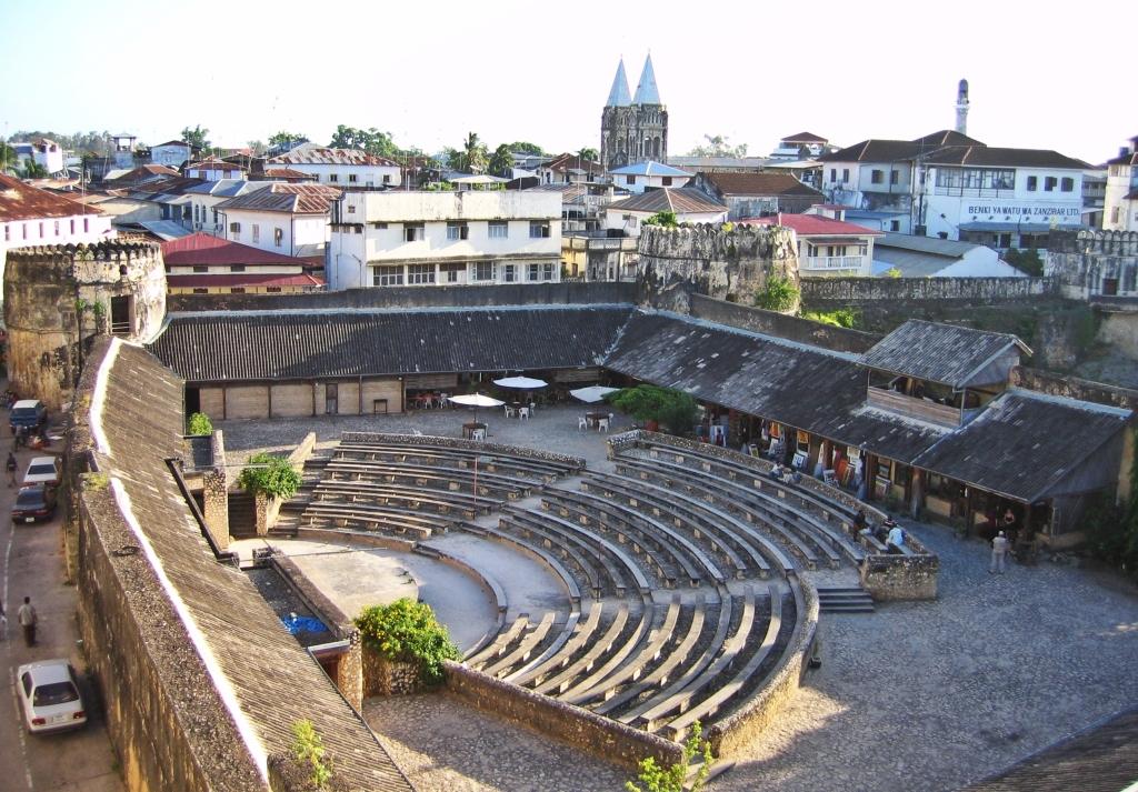 Open-air theatre, Old Fort, Stone Town, Zanzibar