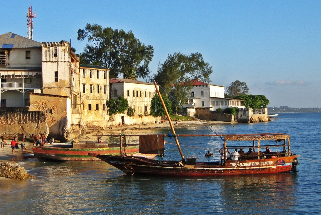 Dhow boat, Zanzibar
