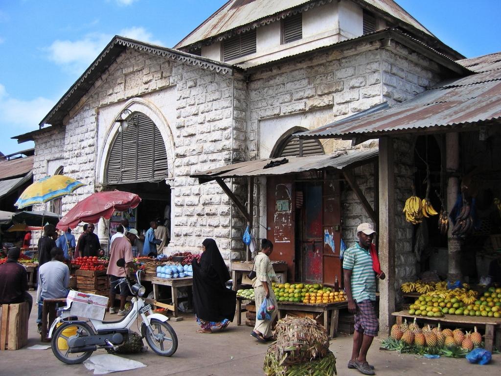 Darajani market, Zanzibar Town