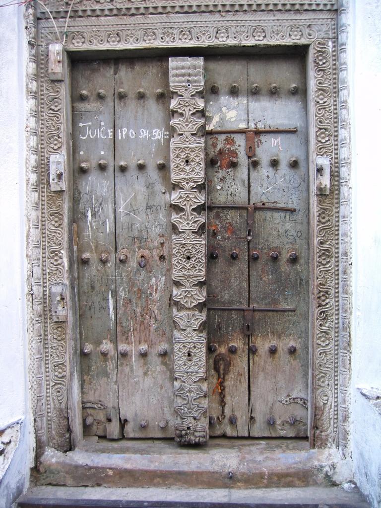 Door, Stone Town, Zanzibar