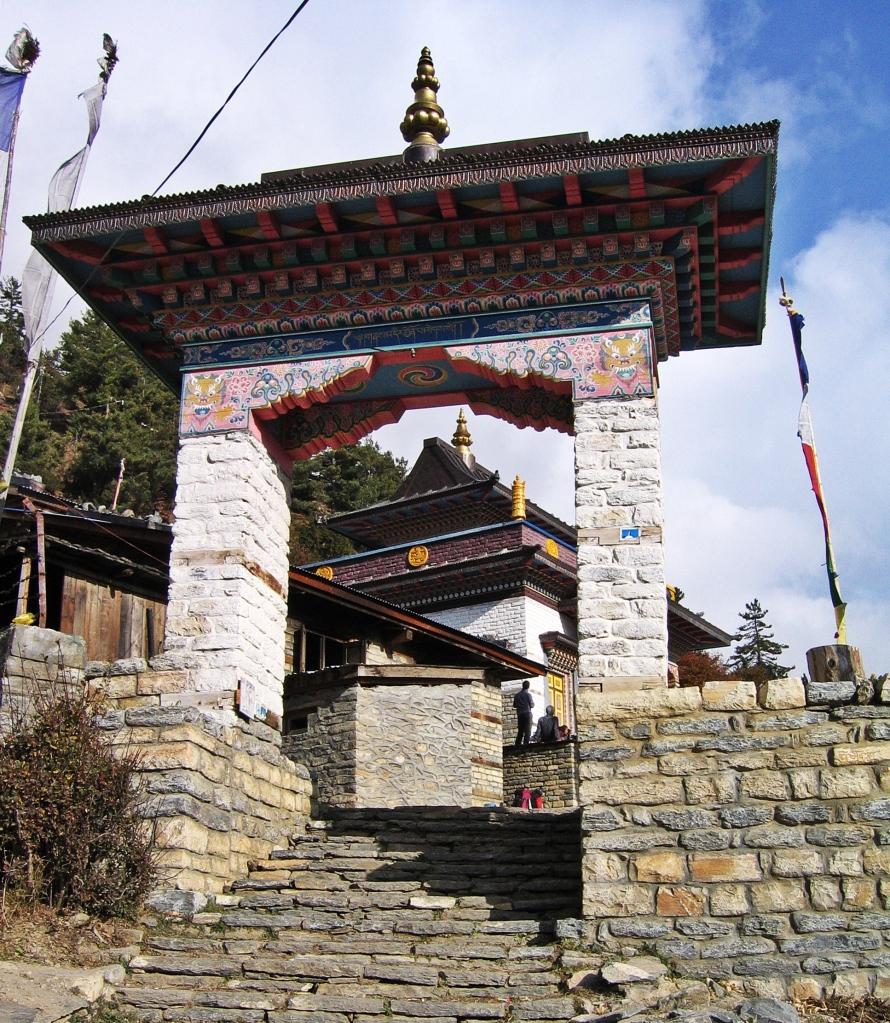 Buddhist gompa, Upper Pisang
