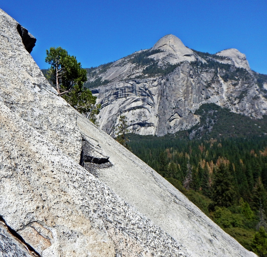 View of North Dome from Glacier Point Apron, Yosemite