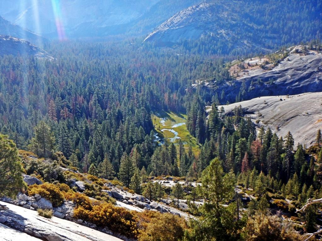 View from Snake Dike, Yosemite
