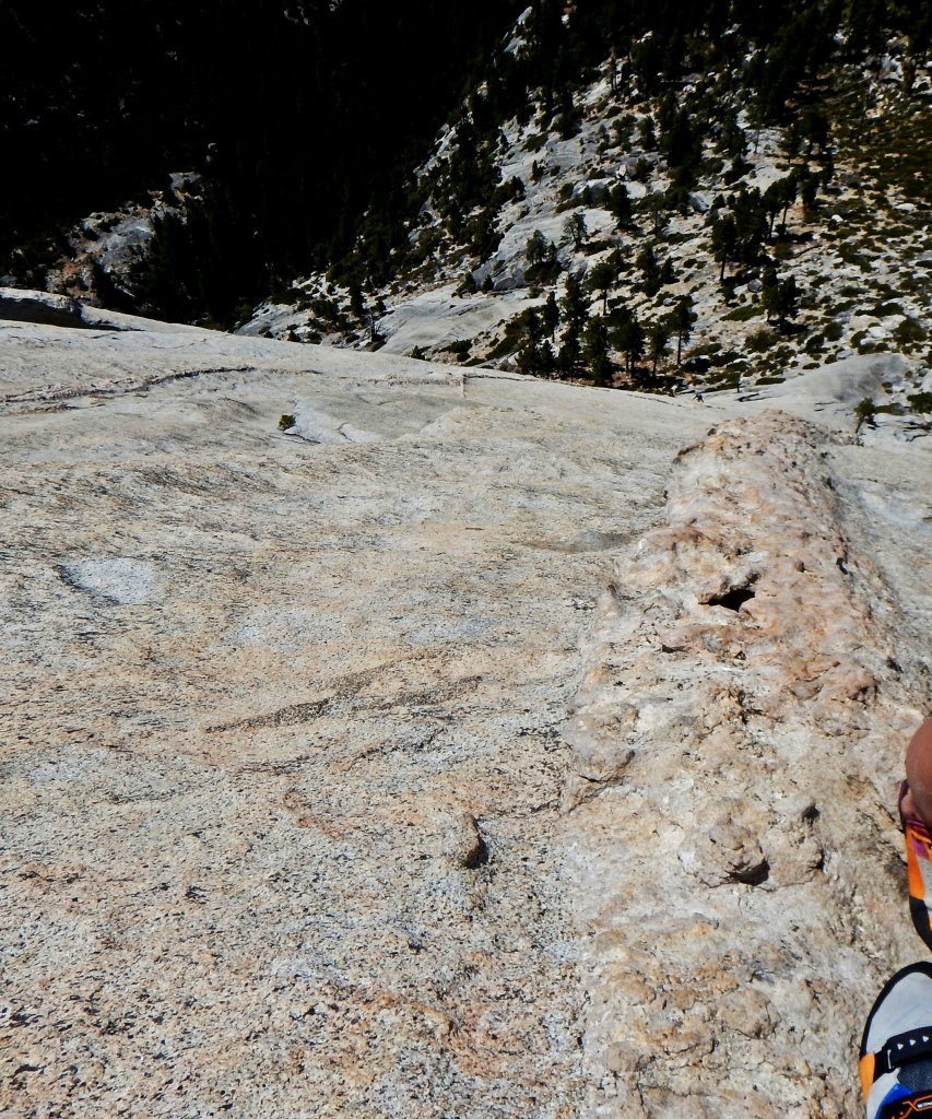 Looking down Snake Dike, Yosemite