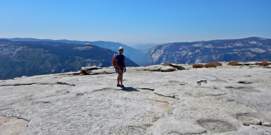 Half Dome summit, Yosemite