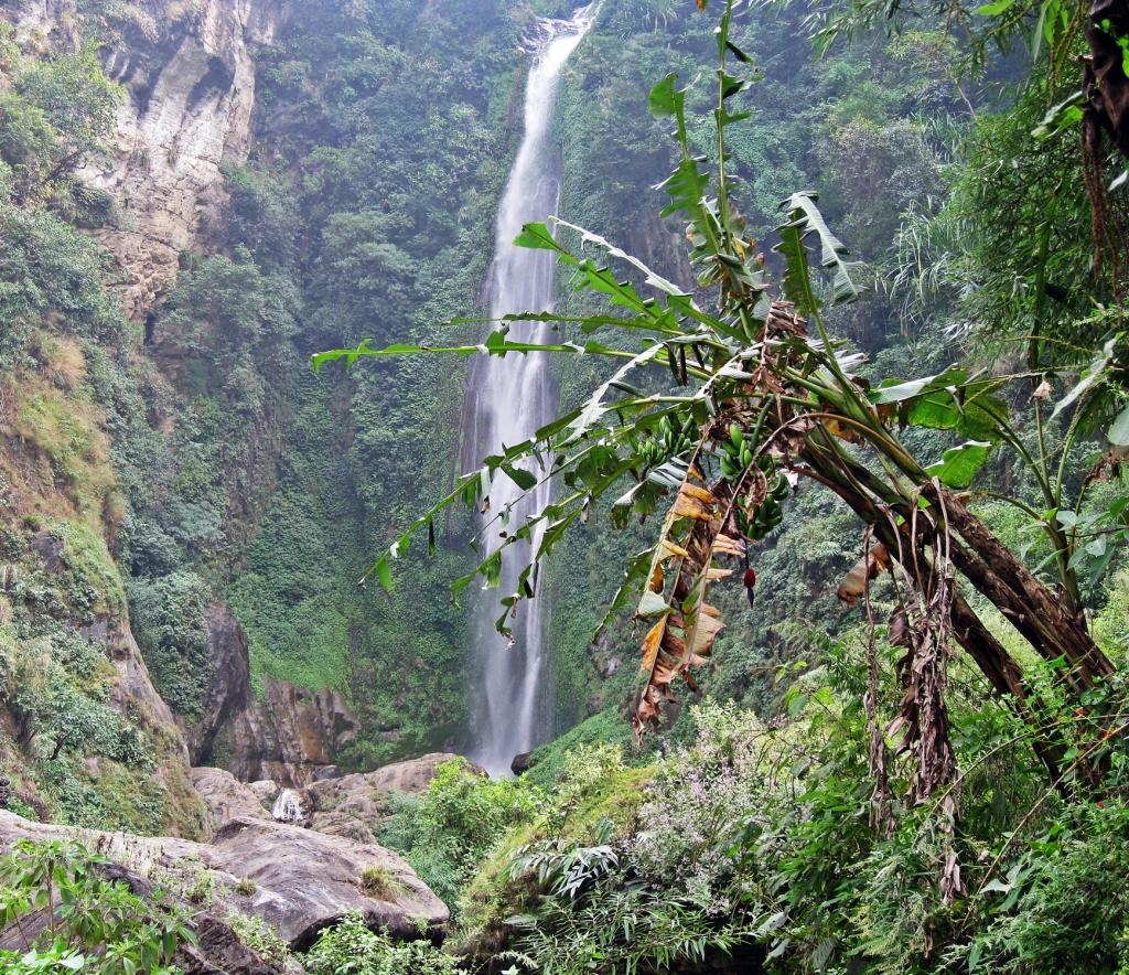 Bhulbhule waterfall, Annapurna Circuit Trek