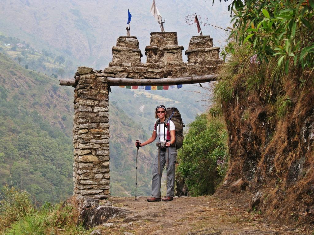 Kani, Annapurna Circuit Trek