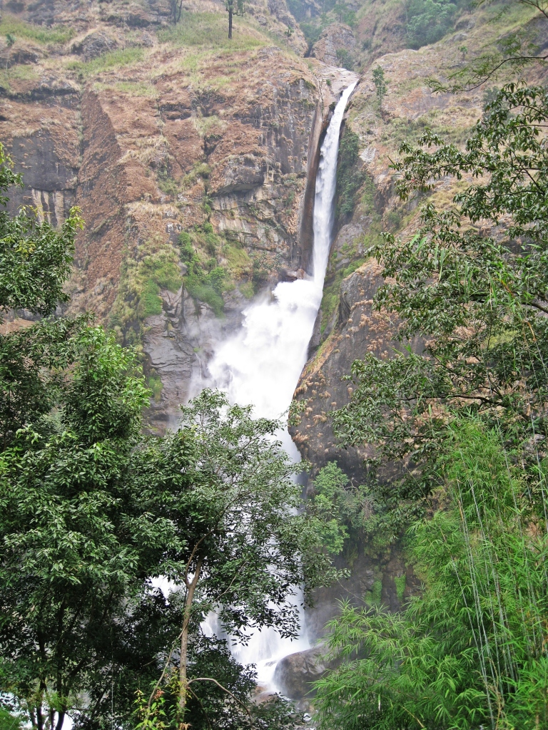 Chamje Waterfall, Annapurna Circuit Trek