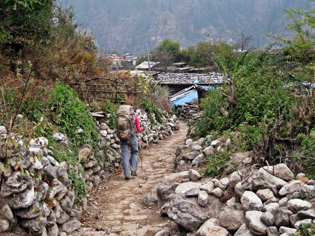 Village, Annapurna Circuit Trek