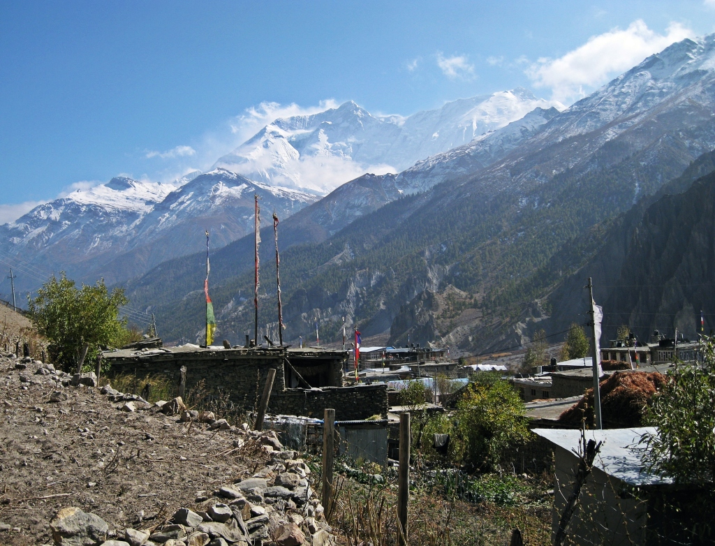 Manang and Annapurna, Annapurna Circuit Trek