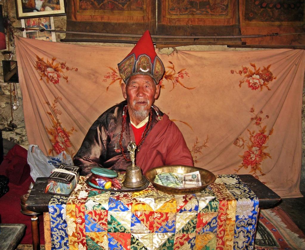 Monk, Praken Gompa, Annapurna Circuit Trek