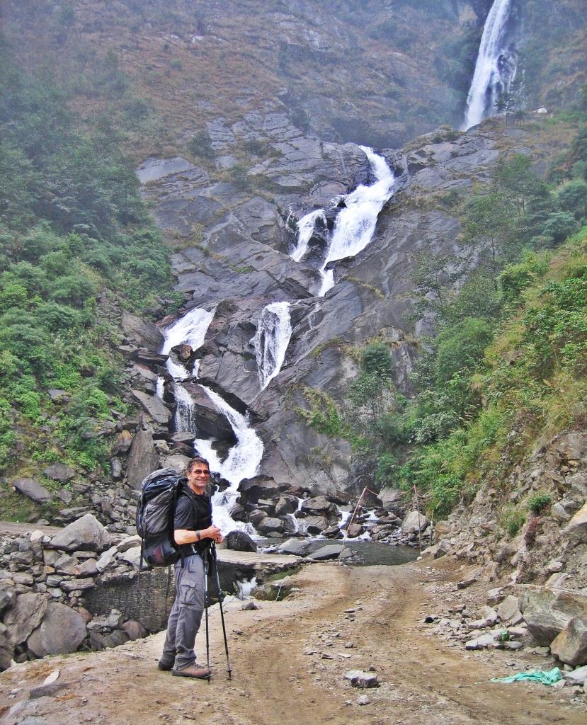 Rupse Chharhara waterfall, Annapurna Circuit Trek