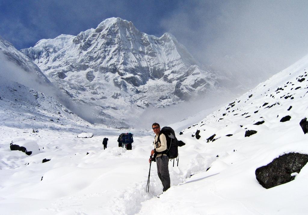 Annapurna I, Annapurna Sanctuary
