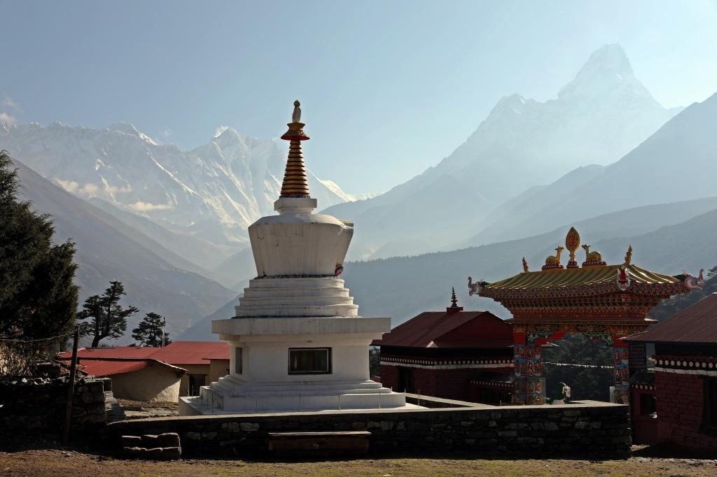Buddhist monastery Tengboche, Everest Base Camp Trek