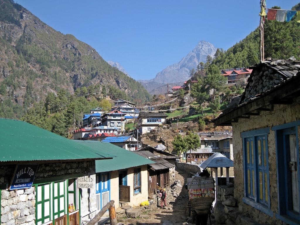 Typical village, Everest Base Camp Trek