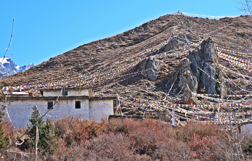 Prayer flags, Muktinath