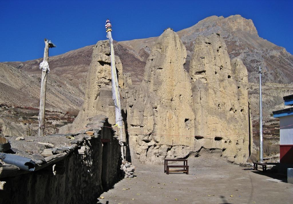 Jhong gompa ruins, Annapurna Circuit Trek