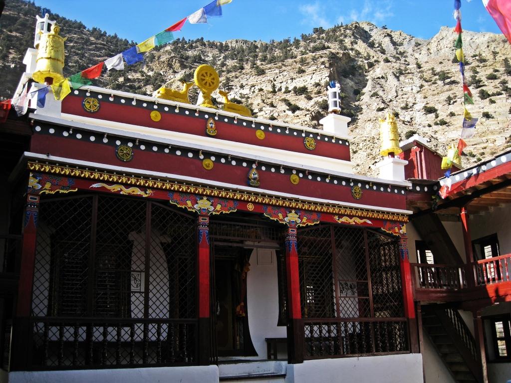 Marpha gompa, Annapurna Circuit Trek