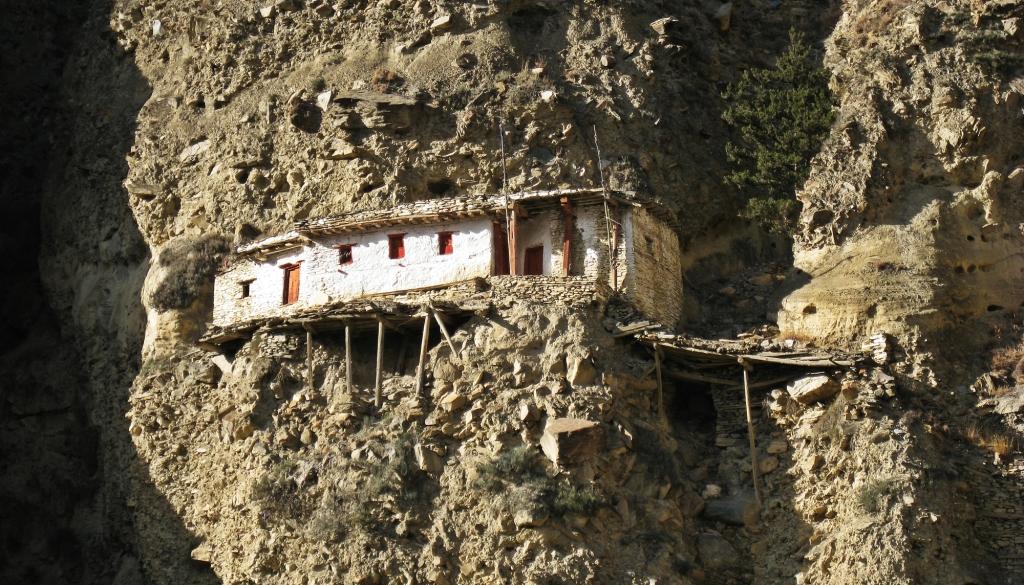 Rhisum Gompa, Marpha, Annapurna Circuit Trek