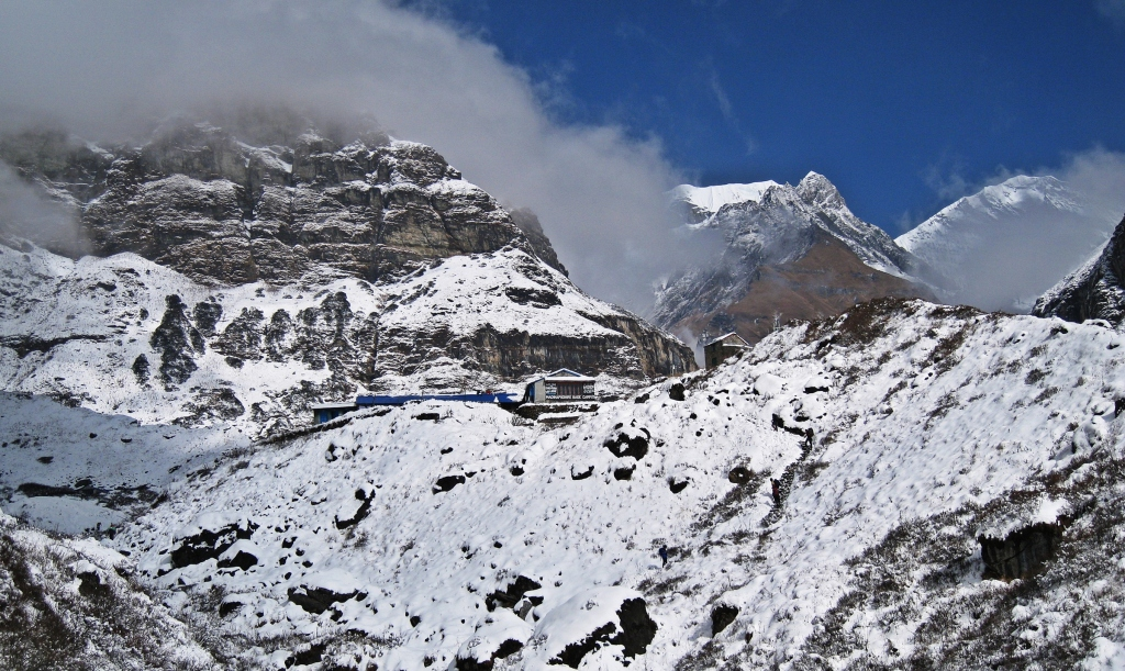 Machapuchare Base Camp, Annapurna Sanctuary