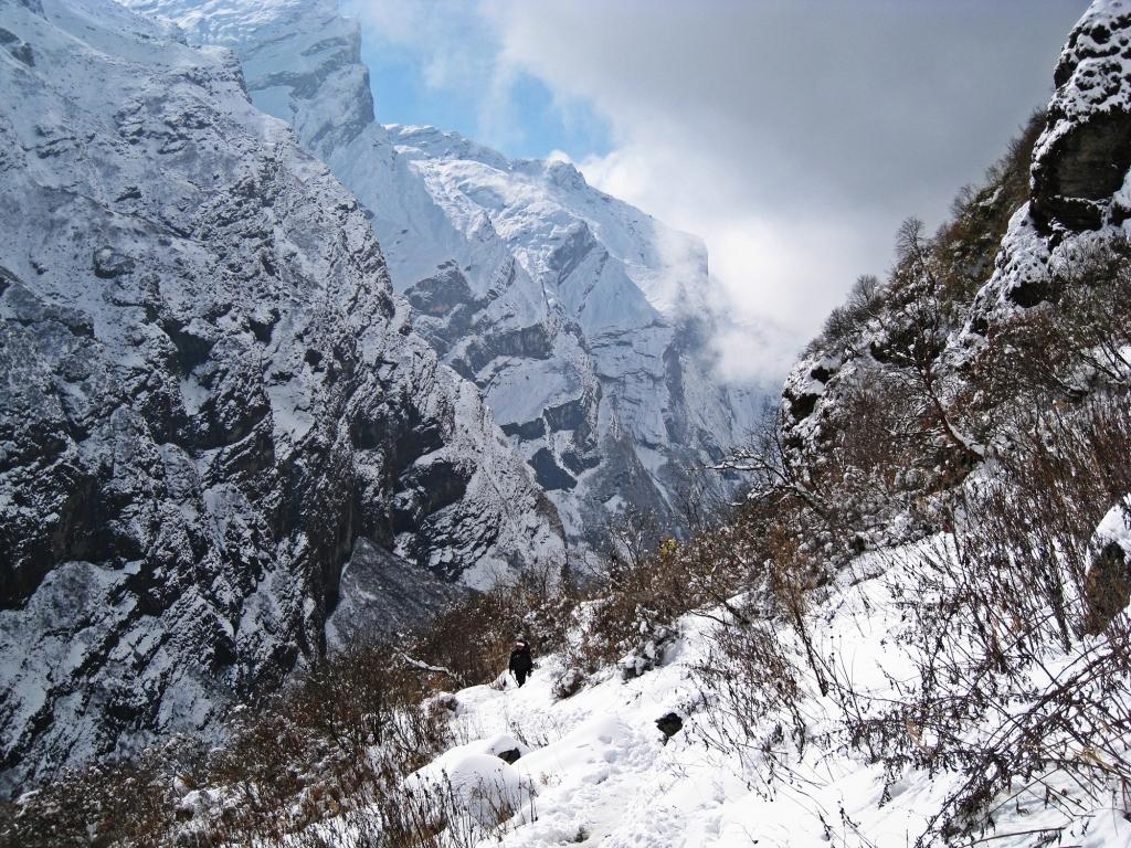 Modi Khola Valley to Annapurna Sanctuary