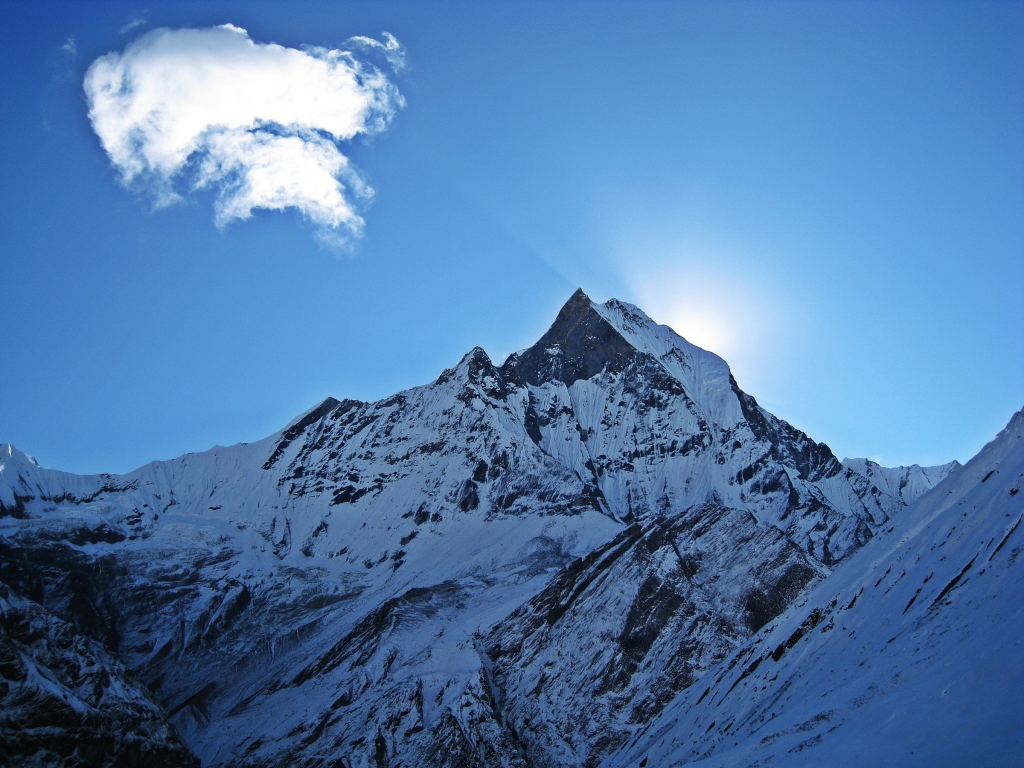 Machhapuchhare from Annapurna Sanctuary