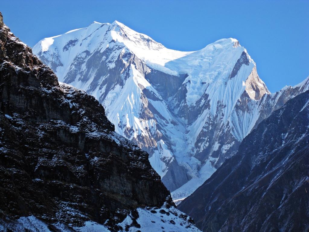 Gangapurna from Annapurna Sanctuary