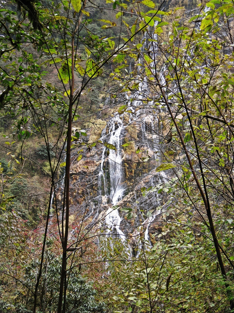 Waterfall, Modi Khola Valley