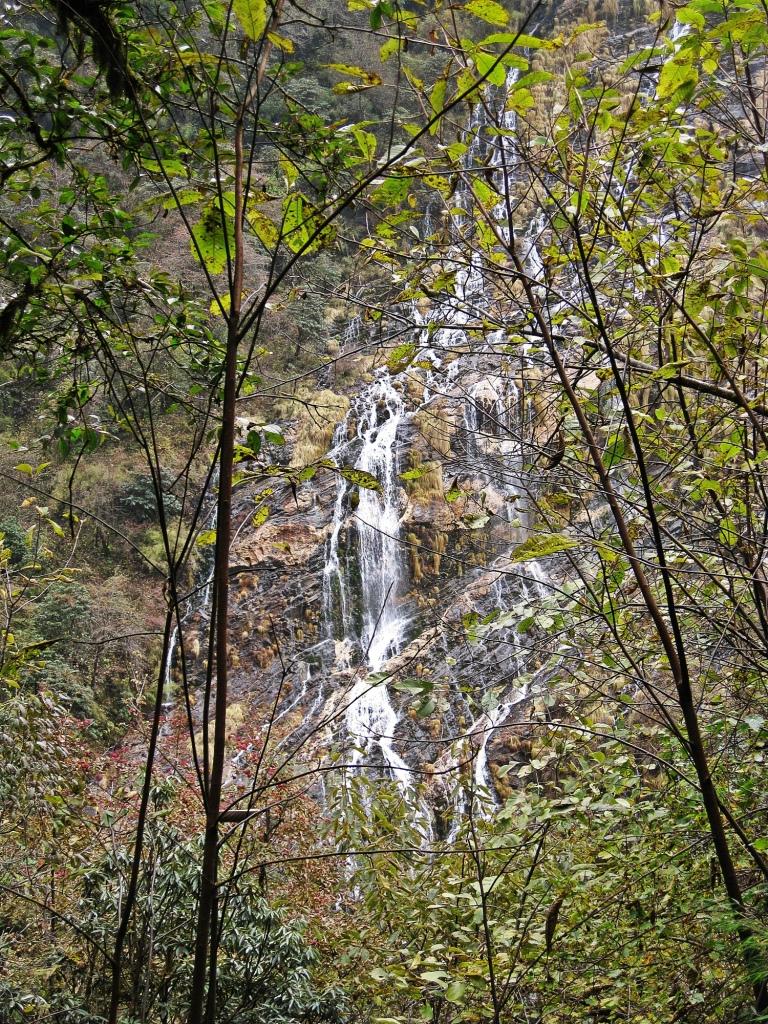 Waterfall, Modi Khola Valley