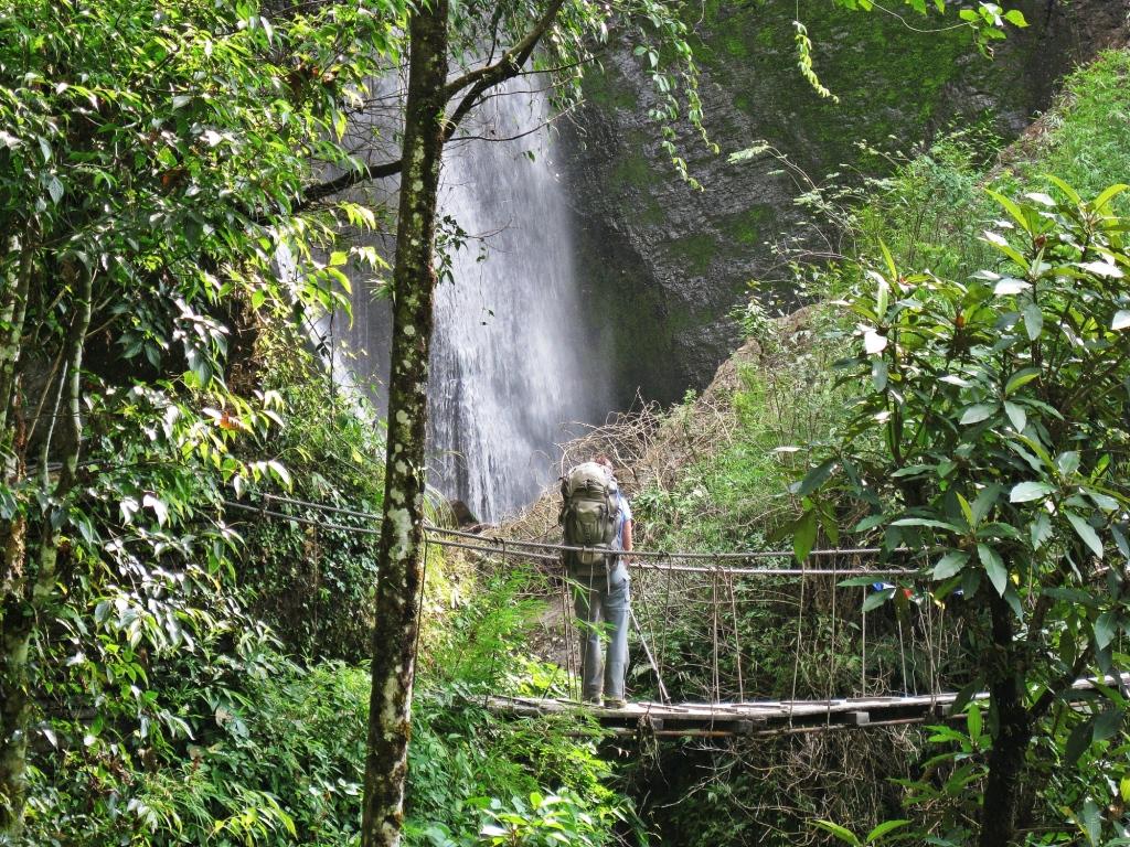 Waterfall, Annapurna Sanctuary Trek