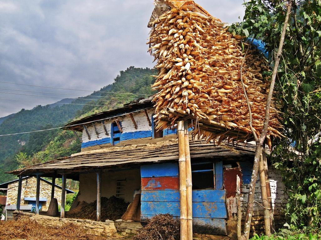 Newari farm house, Annapurna Sanctuary Trek