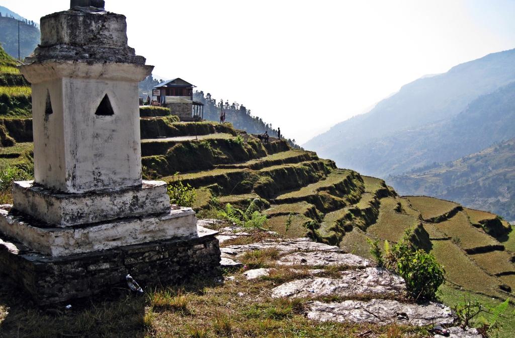 Hindu chorten, Annapurna Circuit Trek