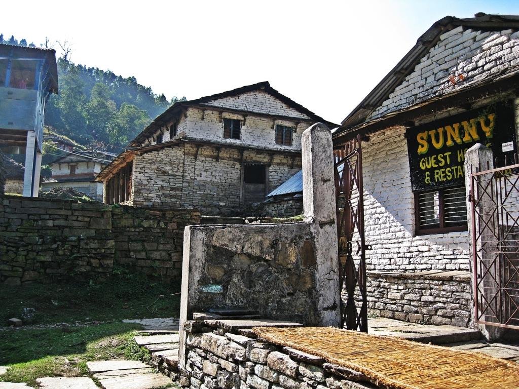 Gunung village, Annapurna Sanctuary Trek