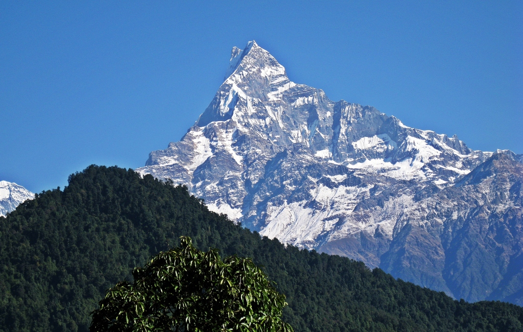 Fishtail Machhapuchhare, above Dhampus