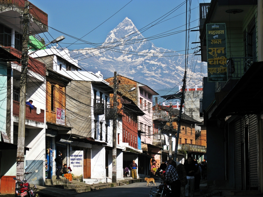 Machhapuchhare from Pokhara