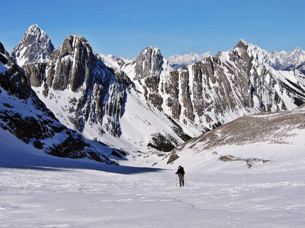 French Glacier, French-Robertson Traverse