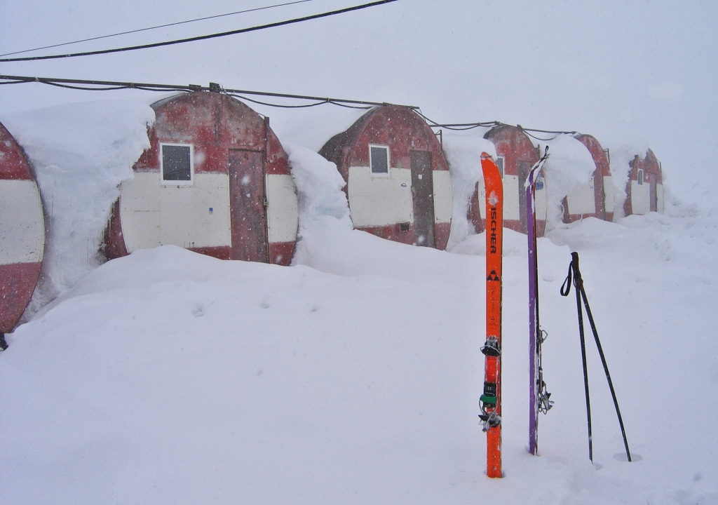 Barrel Huts, Mount Elbrus climb