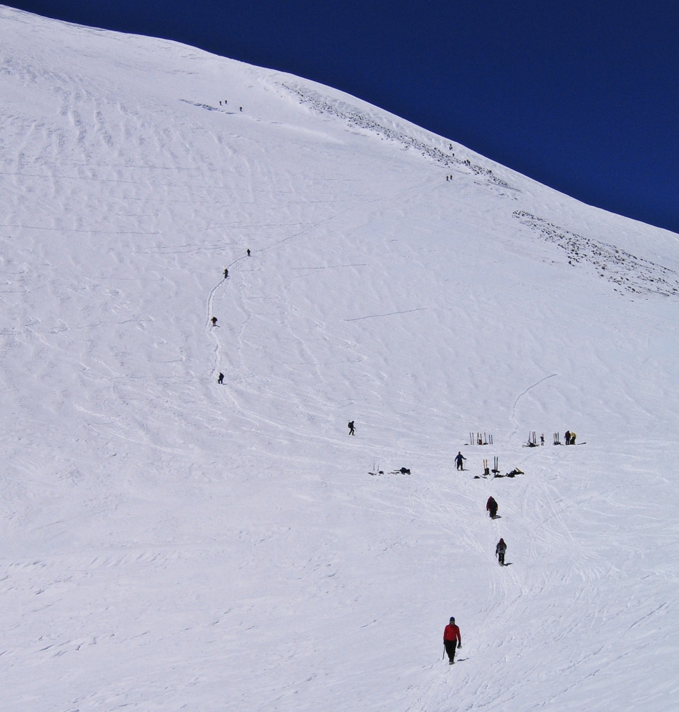 The Saddle, Mount Elbrus climb