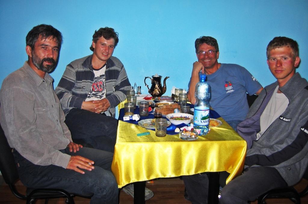 Celebrating in Azau