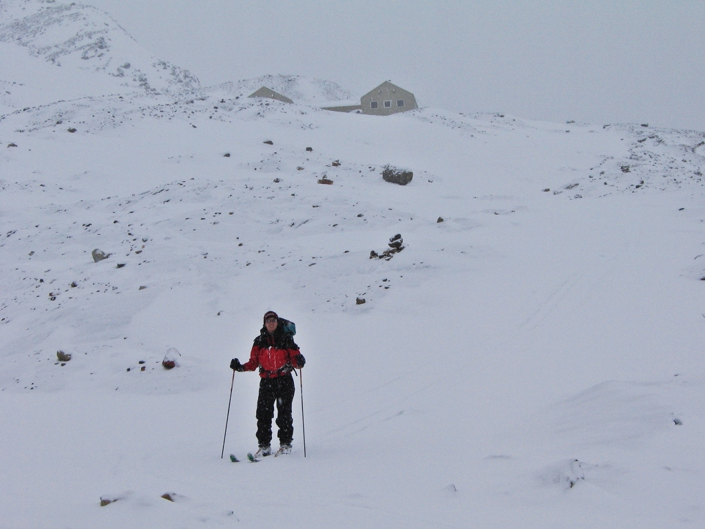 Below Bow Hut, Wapta Icefields