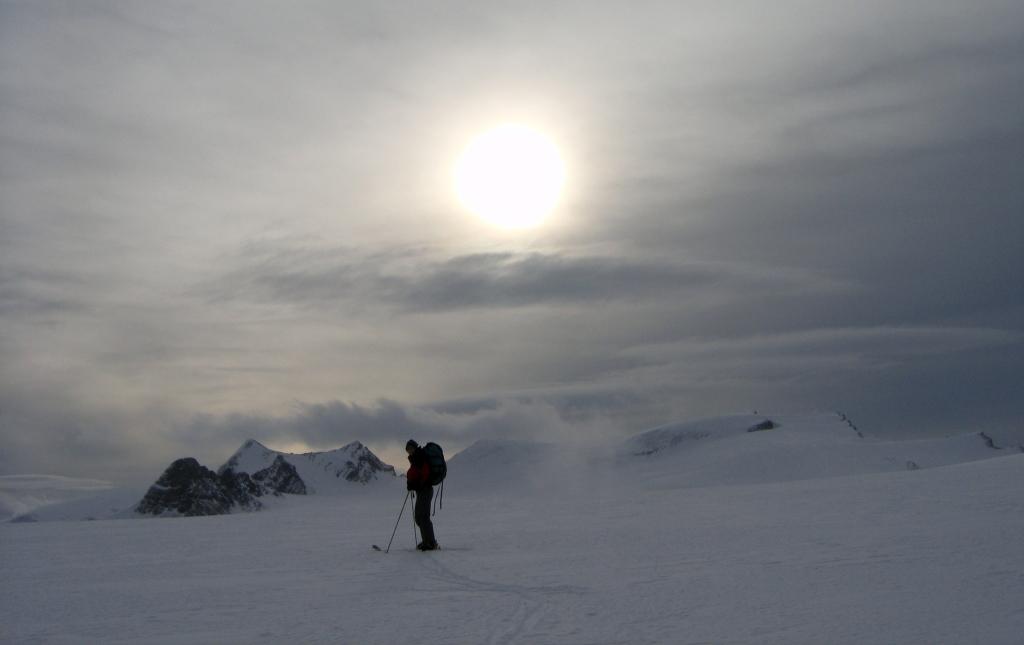 Ski traverse, Wapta Icefields