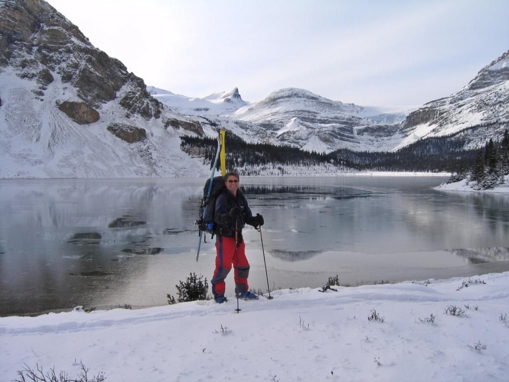 Bow Lake before freezing