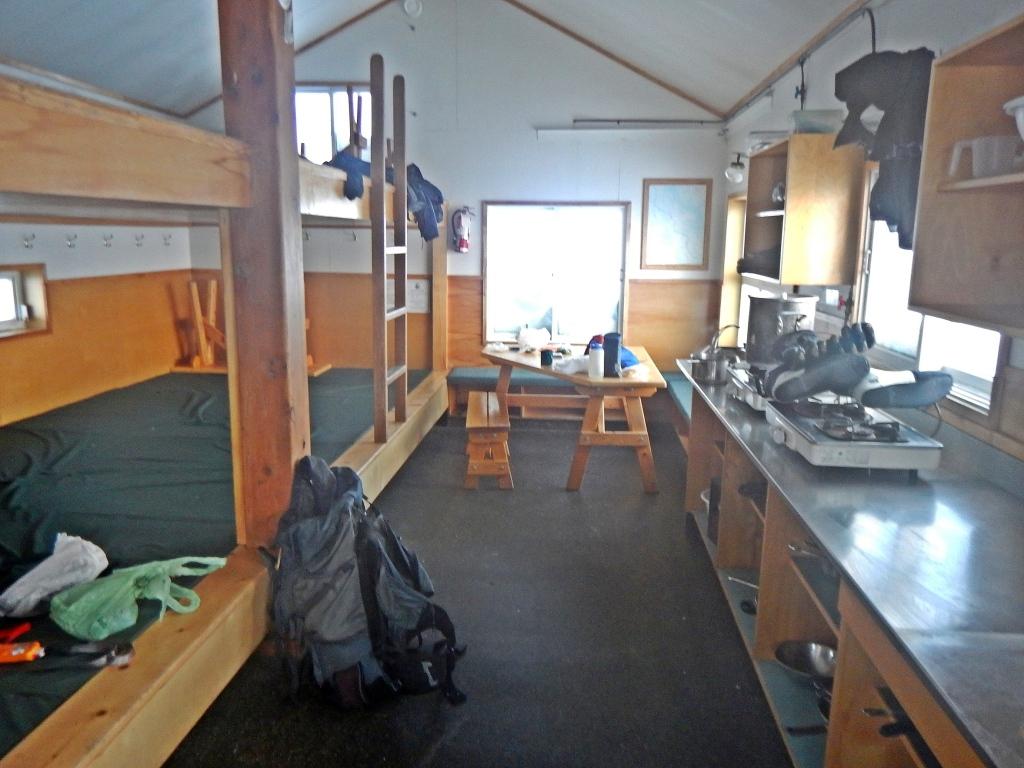 Balfour Hut, Wapta Icefield