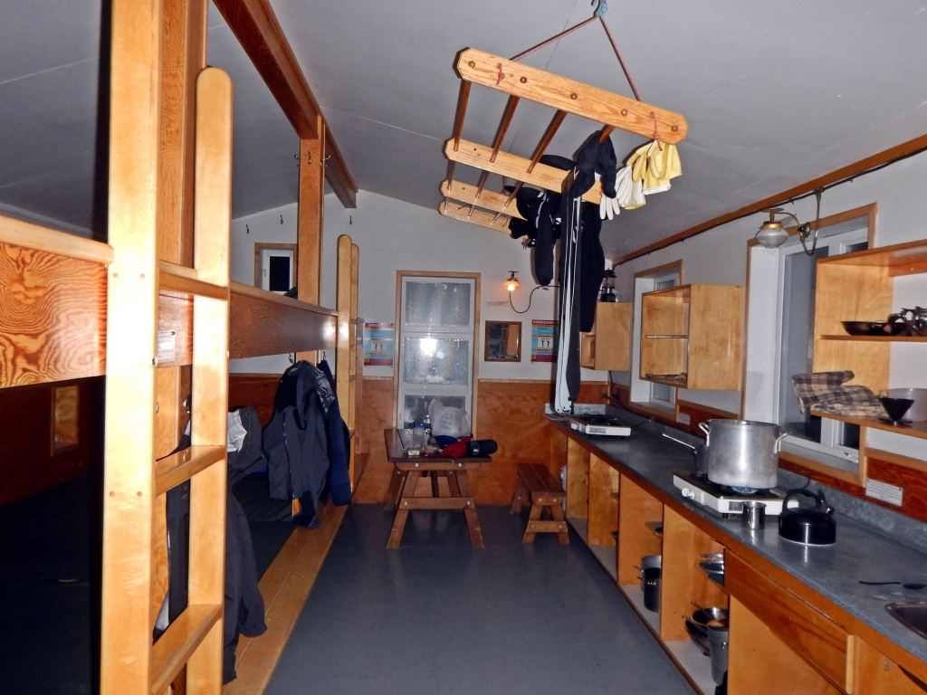 Peyto Hut, Wapta Icefields