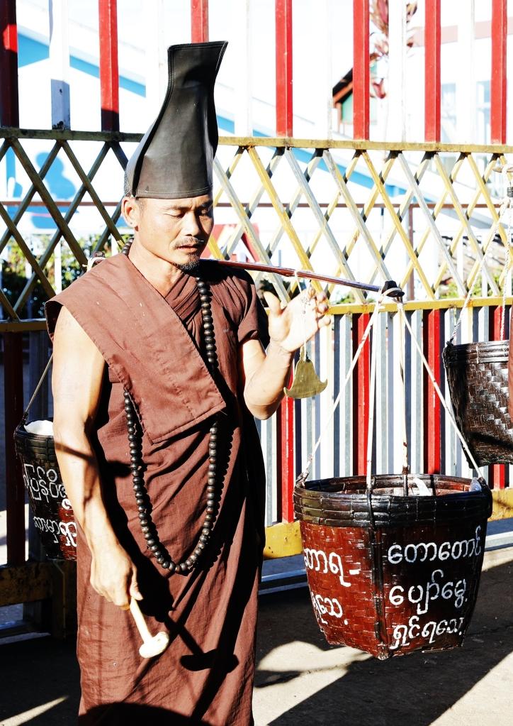 Yati hermit monk, Golden Rock