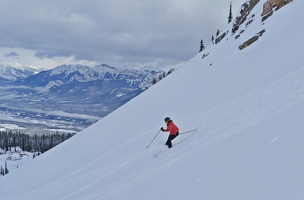 Powder day, CPR Ridge, Kicking Horse Mountain Resort
