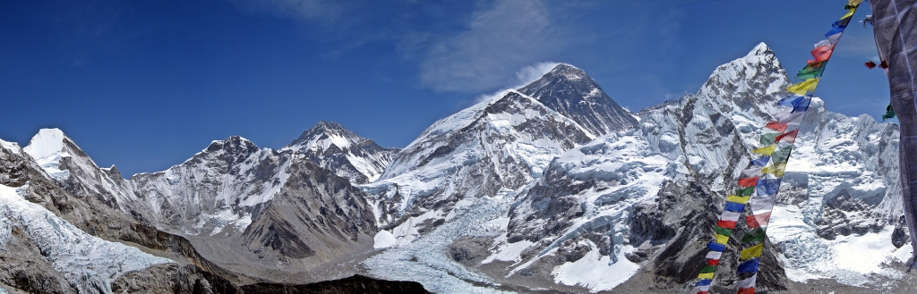 View of Everest from Kala Pattar